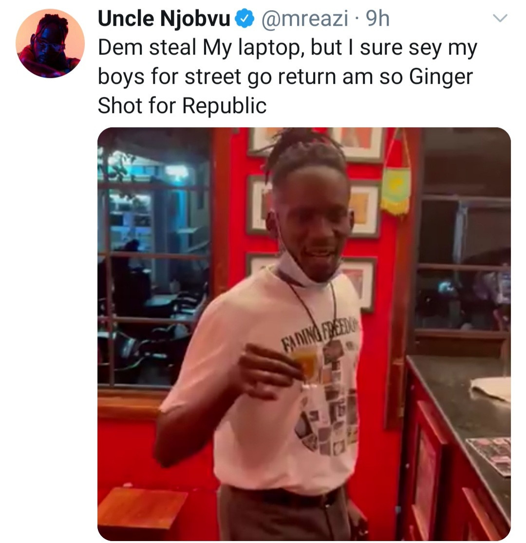 Mr Eazi cries out for help after his laptop and phones were stolen in Ghana