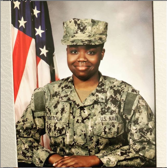 Pasuma celebrates his daughter as she becomes a US Navy officer