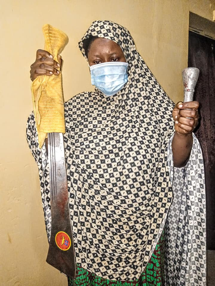 Woman who hacked her two children to death in Kano pleads not guilty