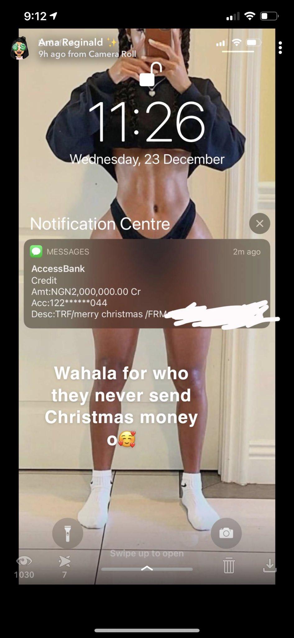Nigerian lady