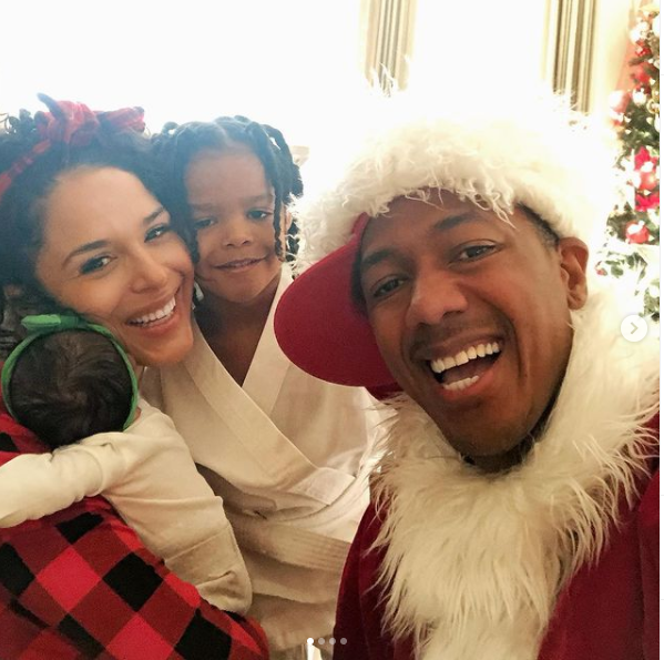 Nick Cannon and his on-off girlfriend Brittany Bell welcome their second child together, a baby girl (Photos)