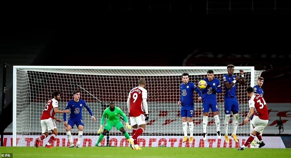Arsenal 3-1 Chelsea: Gunners end winless run in Premier League to save Mikel Arteta