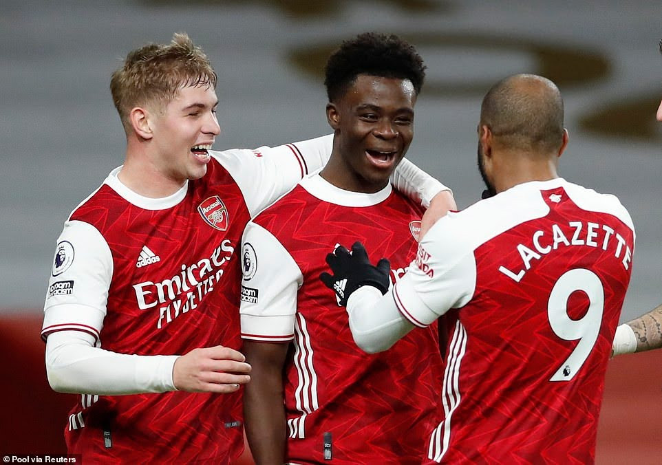 Arsenal 3-1 Chelsea: Gunners end winless run in Premier League to save Mikel Arteta