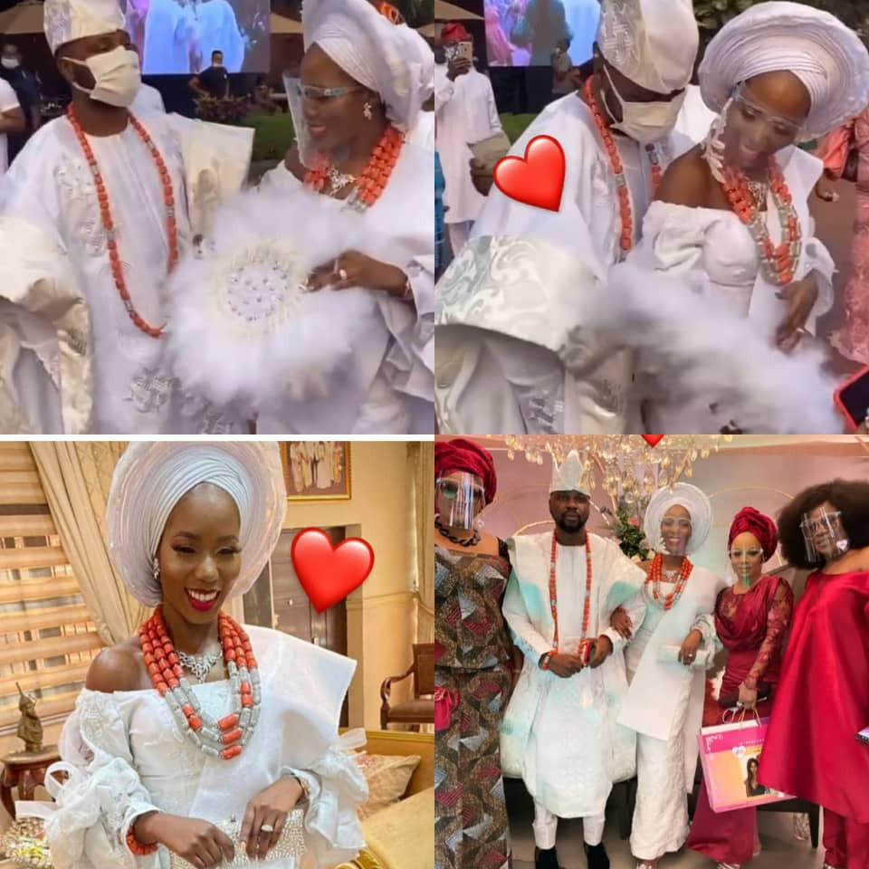 Photos and videos from Debola William's wedding introduction