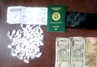 46-year-old Nigerian man arrested in India for cocaine possession