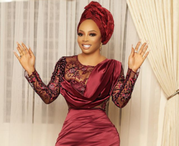 If you know my husband, tell him he is so lucky and blessed that God saved the best for him - Toke Makinwa