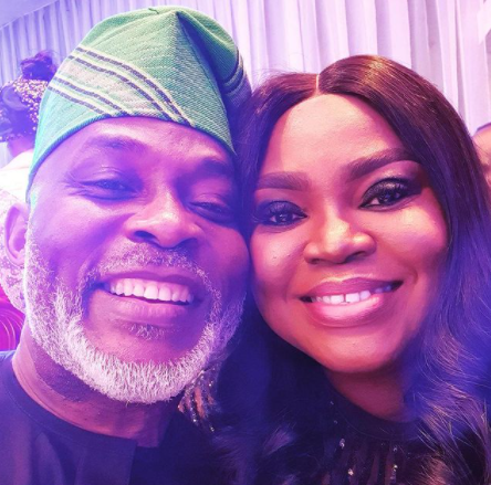 Actor, Richard Mofe Damijo and wife Jumobi celebrate their 20th wedding anniversary