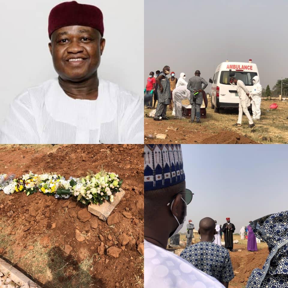 Leadership newspaper publisher, Sam Nda-Isaiah, laid to rest (photos)