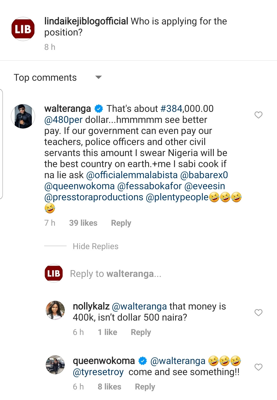 Nigerians react after Tekno said he