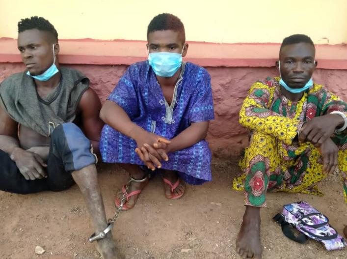 Three men arrested for allegedly killing man over a plot of land in Ogun