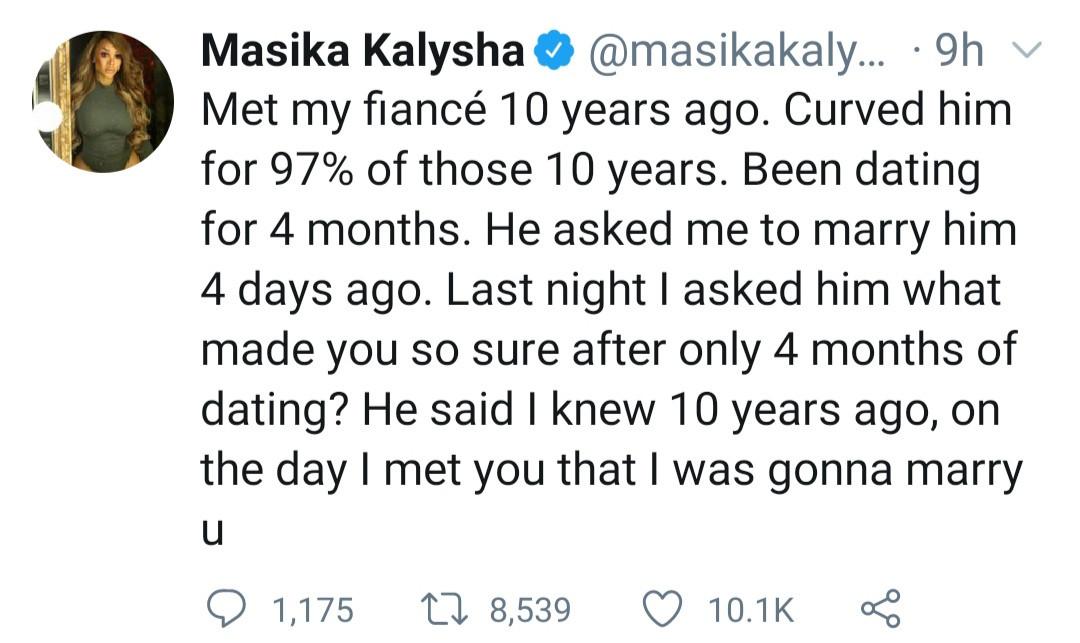 Masika Kalysha reveals she