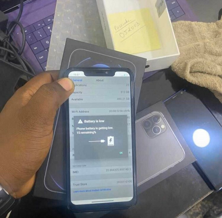 Writer confused after she takes iPhone11 Pro Max to sell in Computer village but returns with a different phone