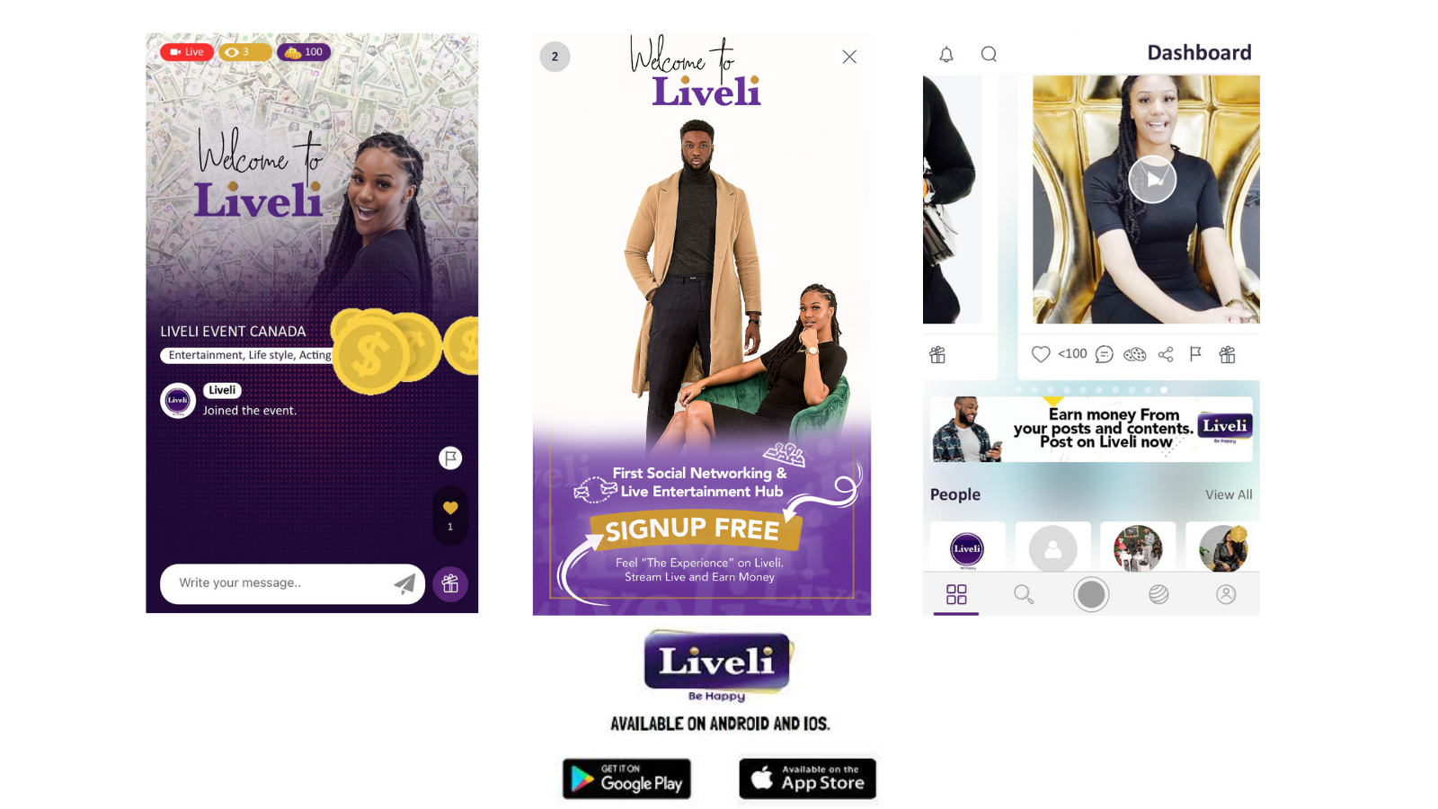 The Liveli App: A Social Networking & Live Entertainment Platform, Where Users Can Earn Money from Posts & Contents, Launches in Africa