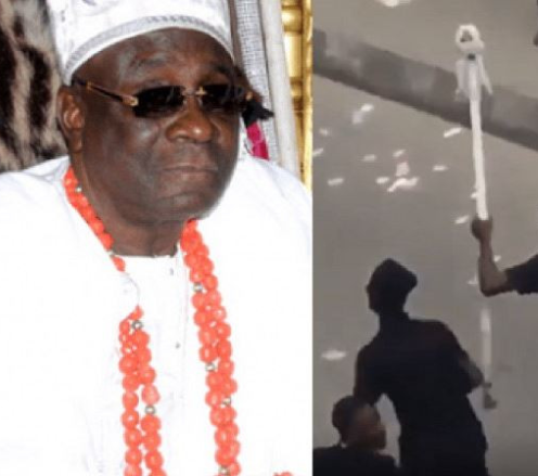 #EndSARS: Oba of Lagos returns to his palace two months after a mob invaded his palace and carted away his staff of office