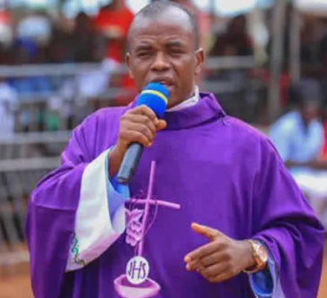 Take care of youths or they will rise against your government- Fr Mbaka tells President Buhari