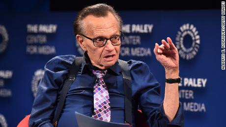 Former CNN anchor Larry King hospitalized with Covid-19