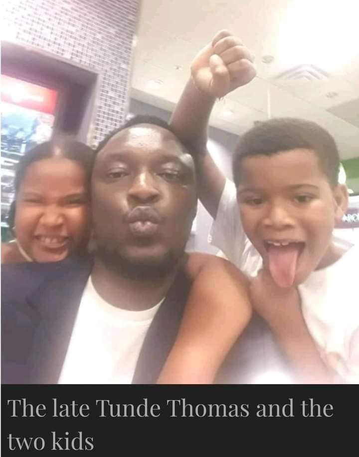 Paternity Scandal: On no occasion did I ever tell Tunde he was not the father of our two children ? Moyo Thomas finally speaks