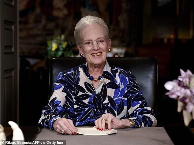 Queen Margrethe of Denmark, 80,