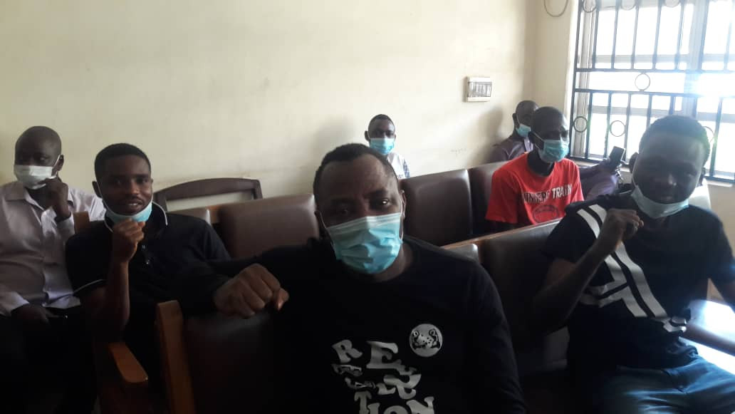 FG arraigns Sowore and four others over New Year?s eve protest (photos)