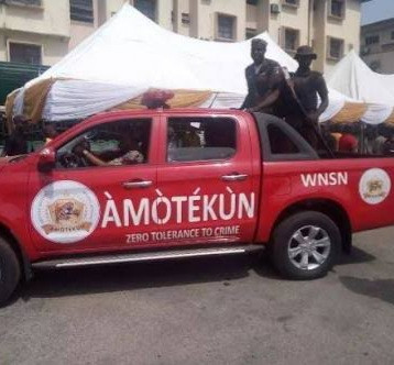Amotekun member detained for allegedly shooting police officer in Oyo