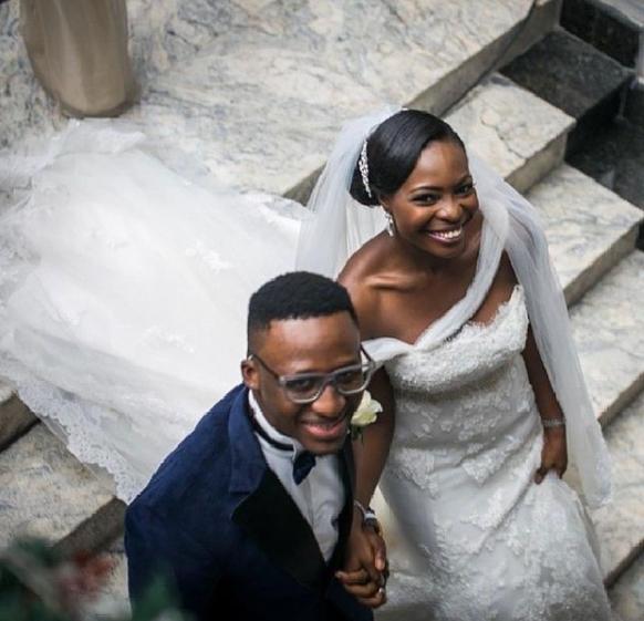 Singer Bez Idakula and wife Tito celebrate 7th wedding anniversary
