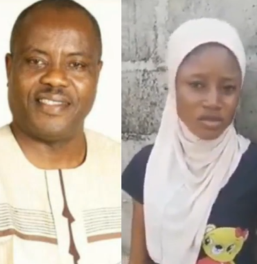 16 year old girl, Barakat Melojuekun, who accused Ogun state Commissioner of Environment, Abiodun Abudu-Balogun, of sexual assault withdraws from the case (video)