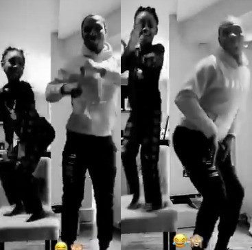 Footballer, Jude Ighalo goofs around with his daughter in new video