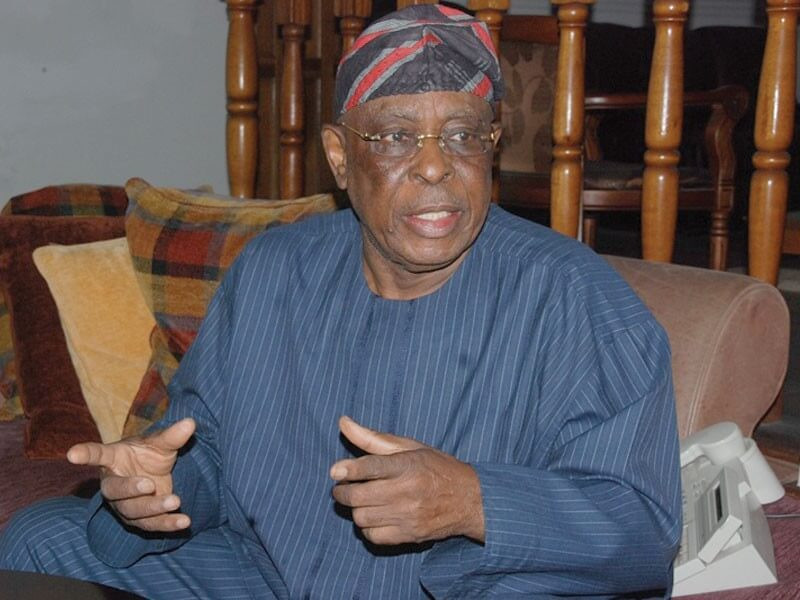 No easterner has told me that they want to run for Presidency - Chief Olusegun Osoba (video)