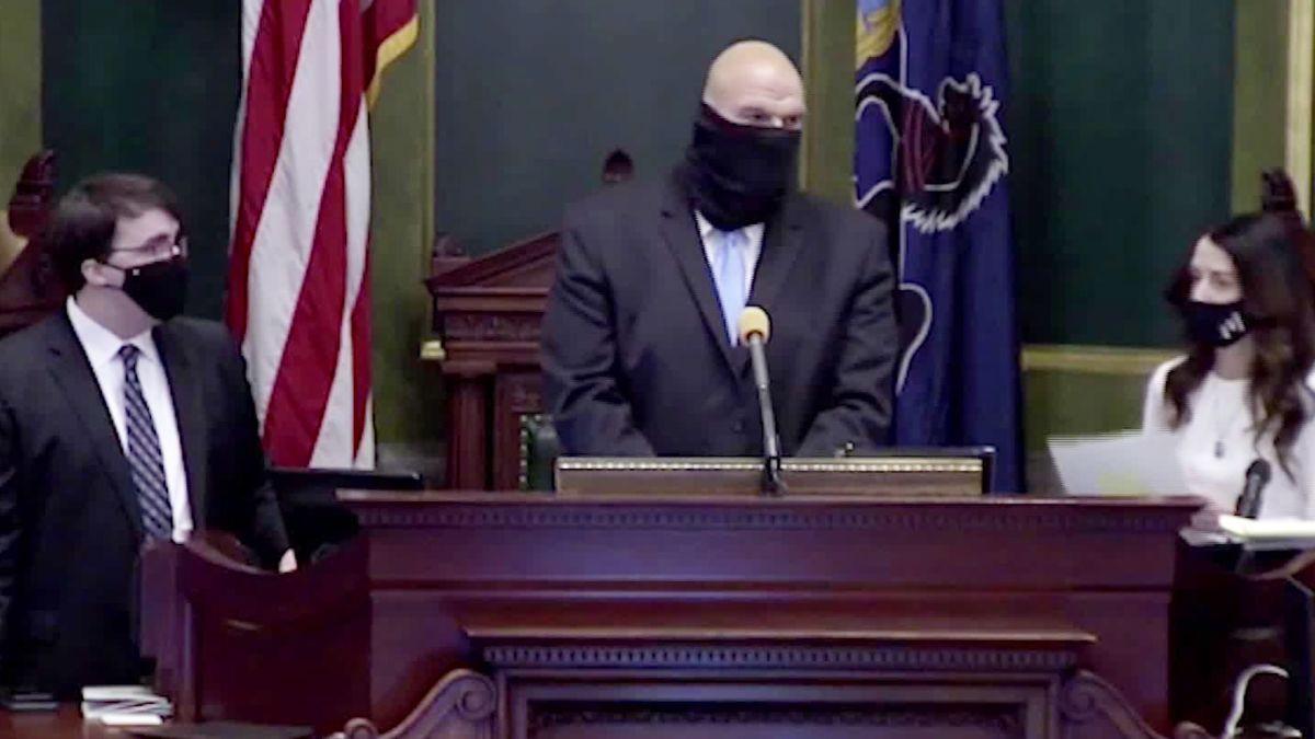 Pennsylvania Republican state senators refuse to seat Democrat who won his election (video)