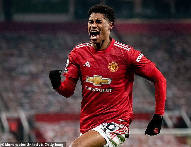 Manchester United striker, Marcus Rashford rated the most valuable player in the world as Lionel Messi and Cristiano Ronaldo are ranked 97th and 131st respectively
