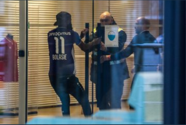 Cameroonian striker, Didier Lamkel Ze struggles with security as he