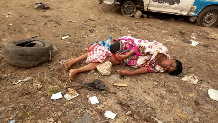 Panic as two elderly people reportedly slump and die after alighting from vehicles in Rivers (photos)
