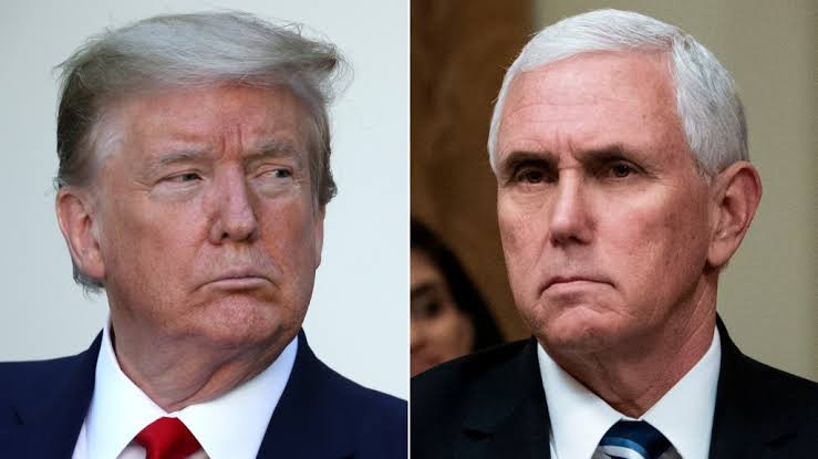 Mike Pence very angry with Trump