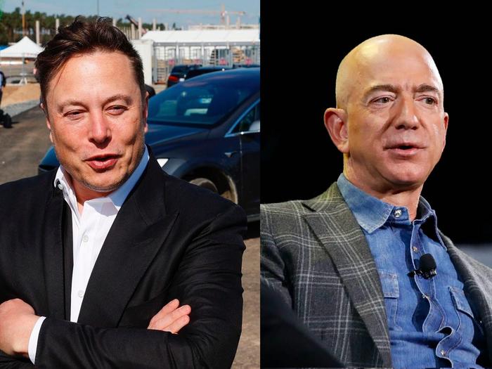 Tesla CEO, Elon Musk overtakes Jeff Bezos to become the world