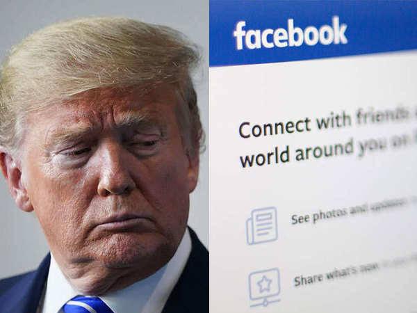 Facebook and Instagram block Trump