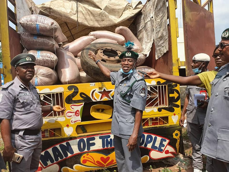 Customs intercepts 5,200 live ammunitions, contraband goods worth N386m