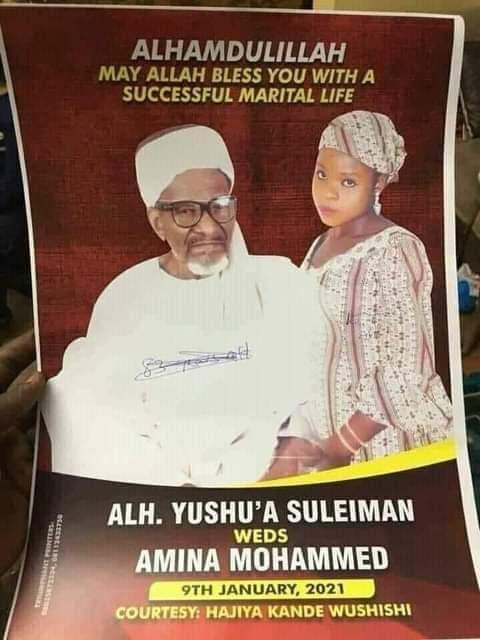 83-year-old Nigerian Muslim man set to marry 16-year-old girl