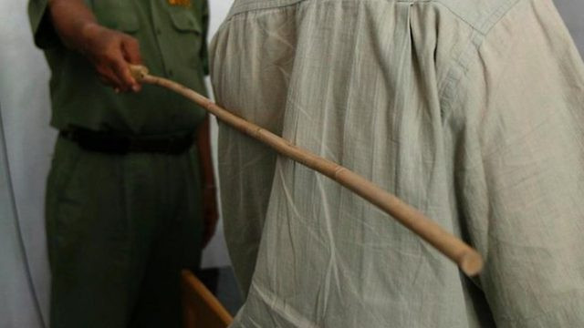 25-year-old man bags 12 strokes of the cane for dealing in hard drugs in Kano state