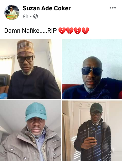 Nigerian man dies on his birthday