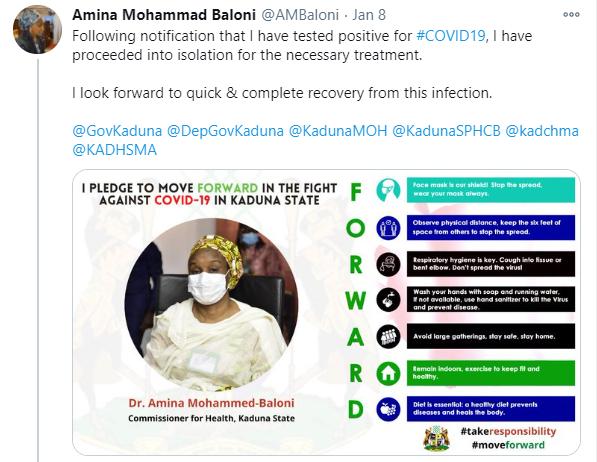 Kaduna Health Commissioner tests positive for COVID-19