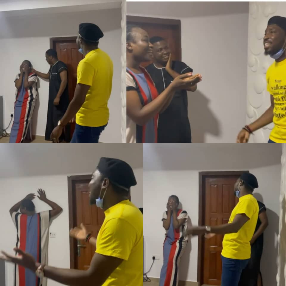 Singer Timi Dakolo gifts newly married Nigerian lady a surprise performance in her home (video)