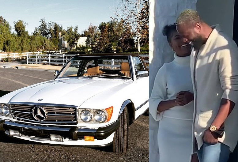 Gabrielle Union surprises husband Dwyane Wade with 1988 Mercedes-Benz convertible ahead of his 39th birthday (video)