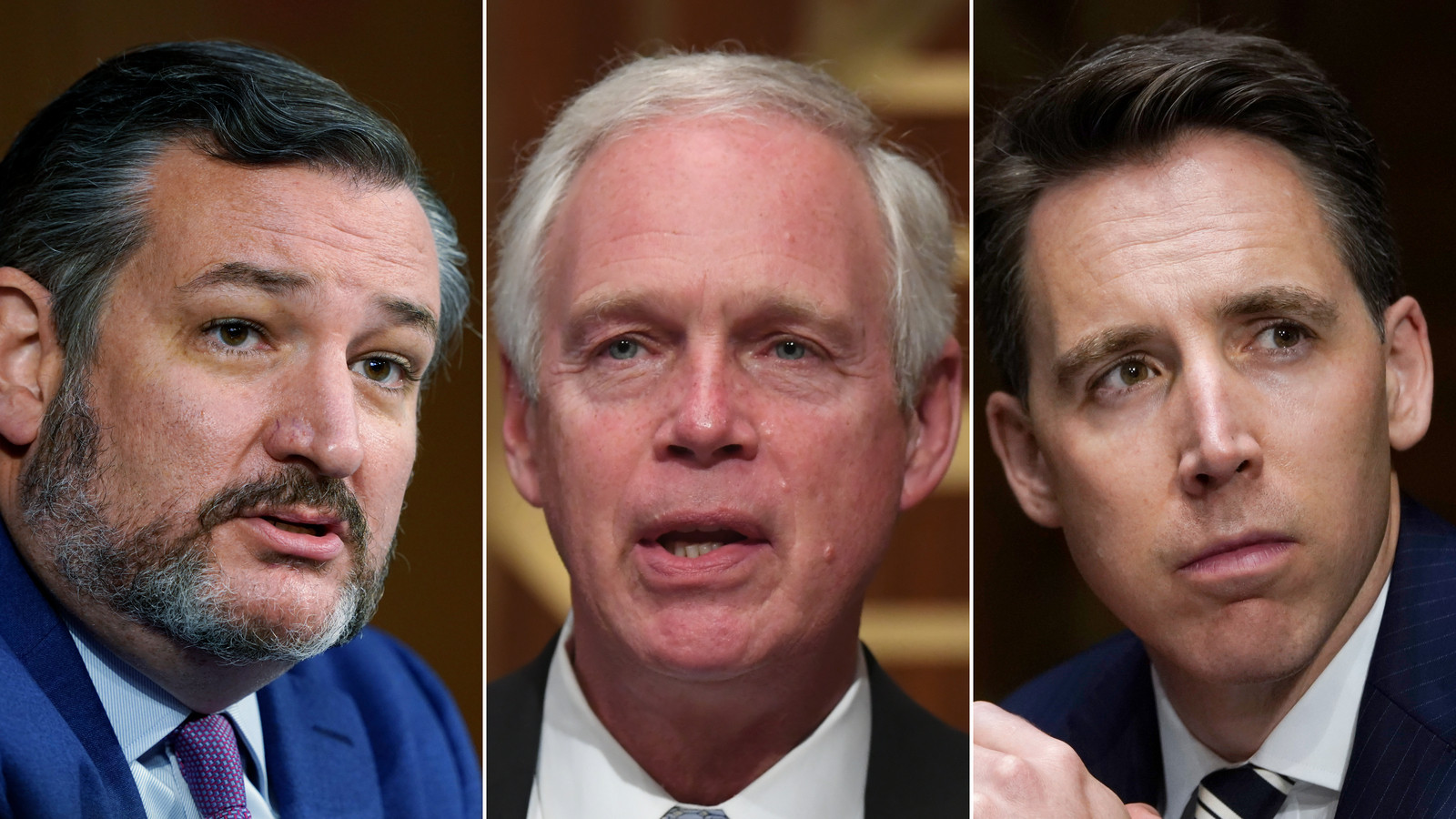 3 Republican senators should be kicked off committees and possibly expelled for supporting Trump and inciting Capitol Hill mob violence - Democrat Senator suggests
