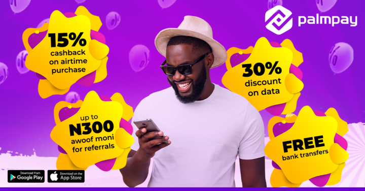 Recharge & win big as PalmPay is rewarding its customers with 50 Million Naira this week lindaikejisblog2