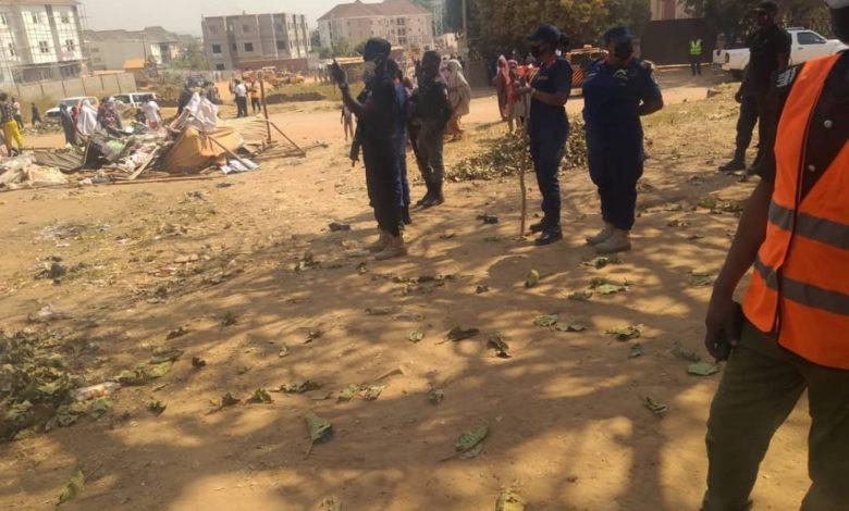 FCTA demolishes 5 wrestling and drama theatres for violating COVID19 protocols, arraigns 25 defaulters (photo)