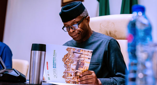 FG will support Nigerian scientists research on using river blindness drug to treat COVID19- Osinbajo