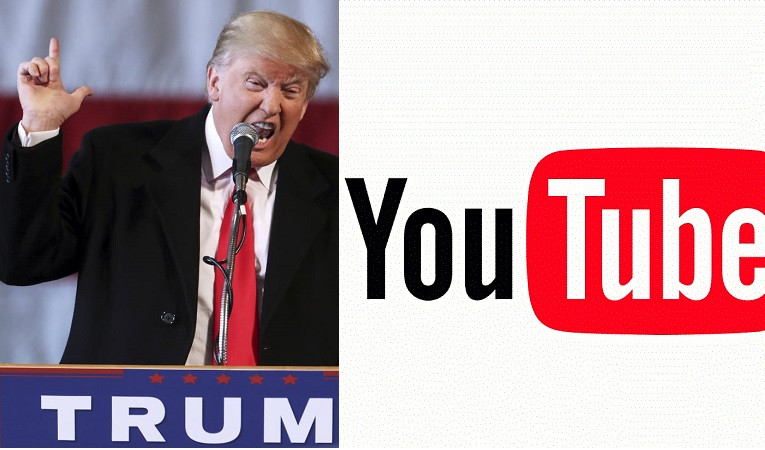 YouTube suspends President Trump?s channel for ?a minimum? of one week for violating the site?s policy