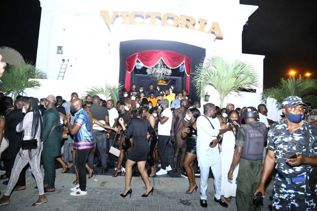 Update: Lagos police arrests owner of Club Victoria, to arraign him in court