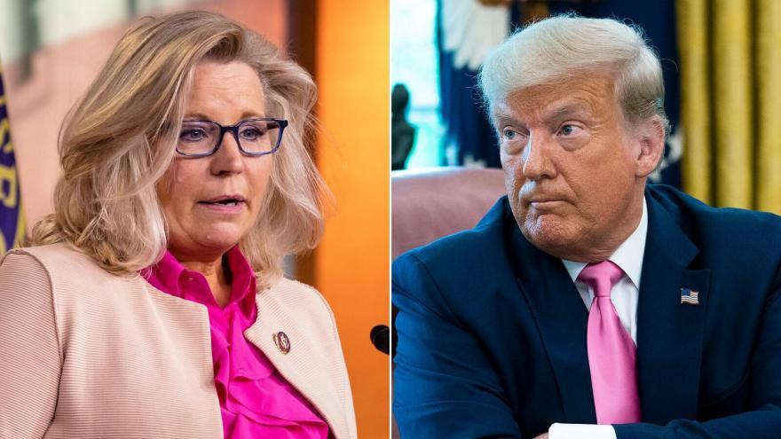 Liz Cheney, third-ranking House Republican says she will vote to impeach President Trump