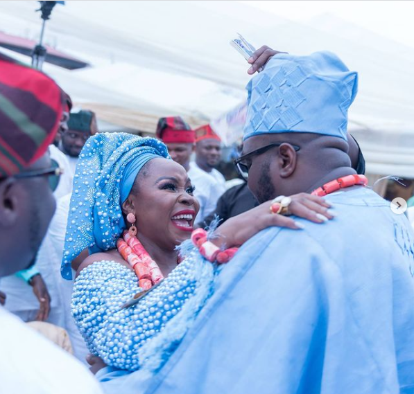 Singer Omawumi and hubby, Tosin Yusuf, celebrate their 3rd wedding anniversary